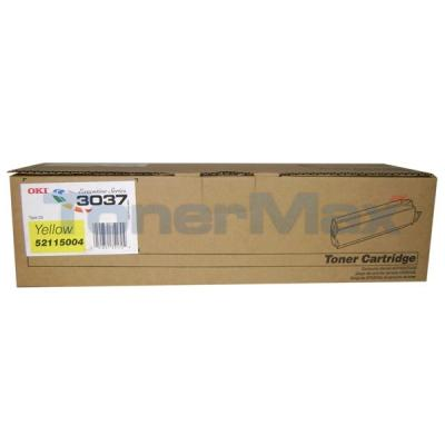 OKIDATA 3037 TYPE C5 TONER YELLOW